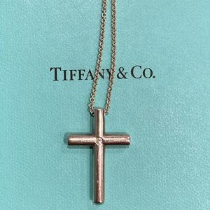 Tiffany cross necklace